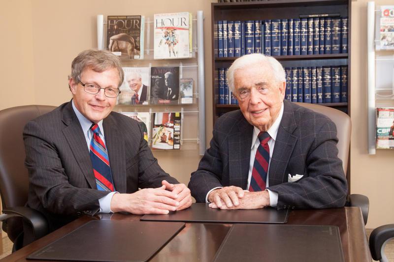 Jack Lessenberry and Frank Kelley photo
