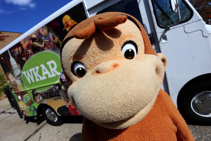Curious George at WKAR
