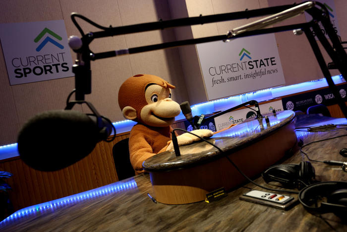 Curious George auditioning for Current State