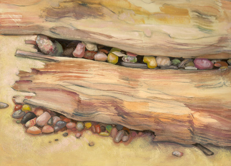 painting of stones
