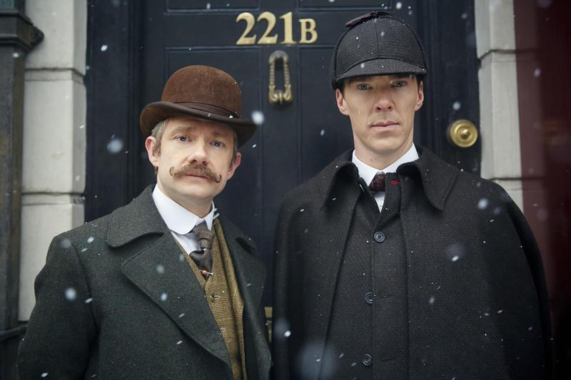 Dr. John Watson (MARTIN FREEMAN), Sherlock Holmes (BENEDICT CUMBERBATCH)