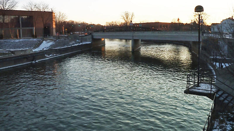 View of the Flint river