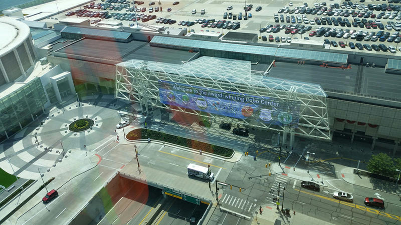 Cobo Center exterior photo