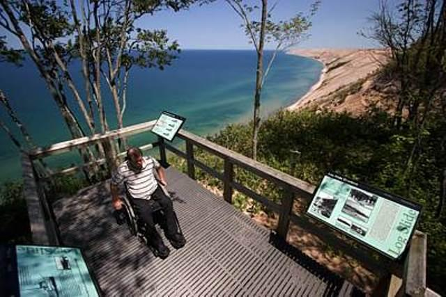 Ron Wilmers at Pictured Rocks National Lakeshore