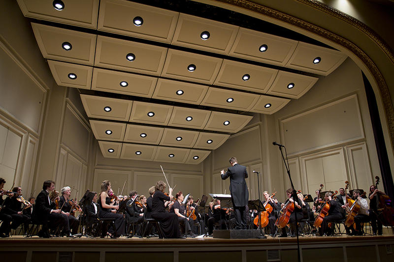 picture of orchestra on stage