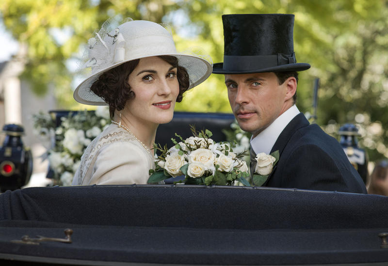 Scene from Ep. 8 (l-r) Michelle Dockery as Lady Mary and Matthew Goode as Henry Talbot