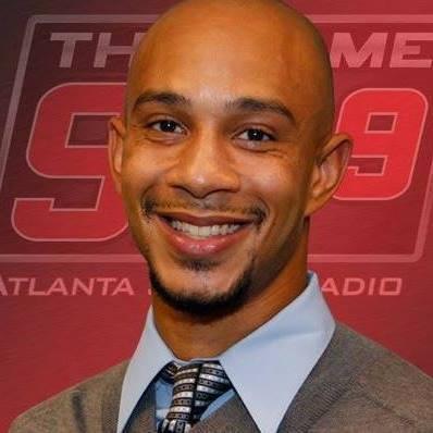 DeShaun Tate of CBS Radio in Atlanta, Ga.