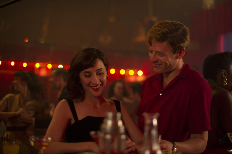 Scene from Ep. 5 (l-r) Morven Christie as Amanda Kendall and James Norton as Sidney Chambers