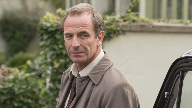 Scene from Ep. 2  Robson Green as Inspector Keating