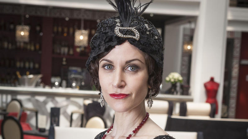 Scene from Ep.3: Shown: Katherine Kelly as Lady Mae