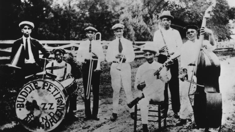 Buddie Petit's New Orleans Jazz Band, ca. 1910s