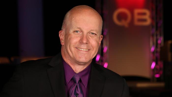 QuizBusters host Matt Ottinger