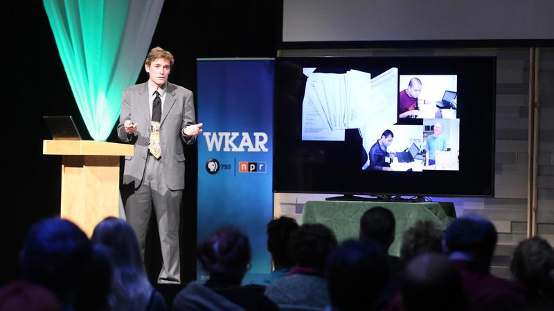 Marc Edwards at WKAR Studios