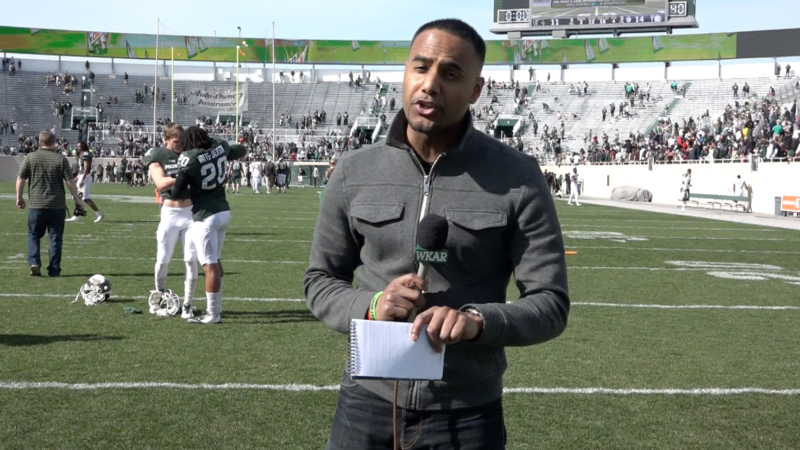 WKAR's Al Martin reports from the MSU Spring Game on Saturday afternoon, which drew a record crowd of 51,000.