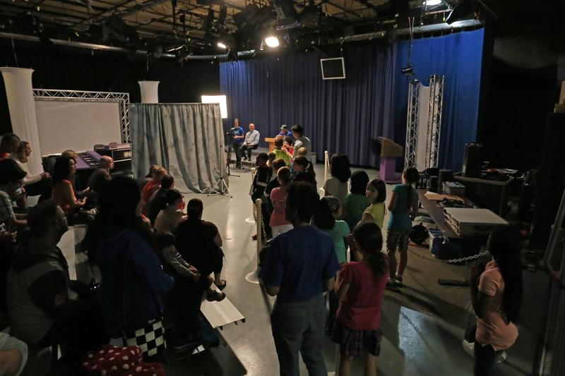 Curious Crew Casting Call at WKAR TV Studios on the Michigan State campus