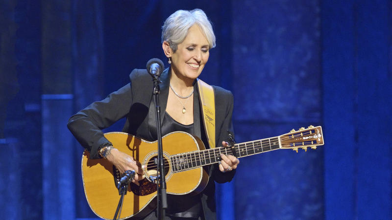 Joan Baez celebrates her 75th birthday at New York's historic Beacon Theatre with a performance that honors her legendary 50-plus years in music