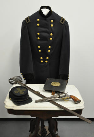 Civil War artifacts photo
