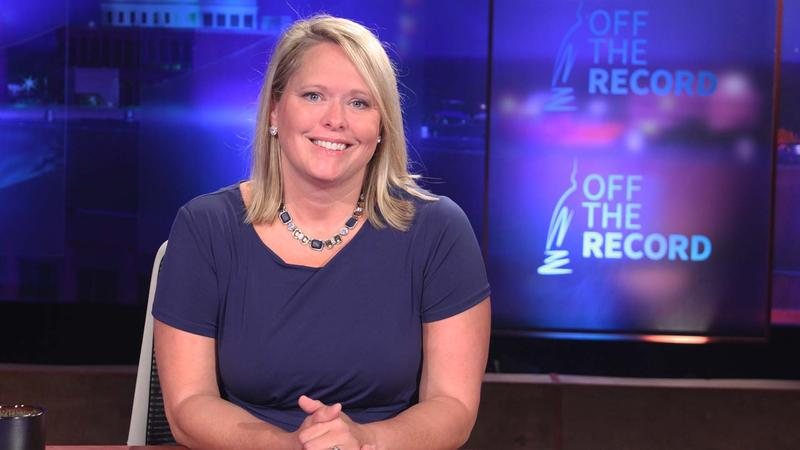 Wendy Day appearing on Off the Record with TIm Skubick.
