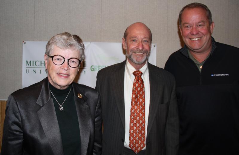 Lou Anna K. Simon, Lawrence Ponoroff, Mark Hollis
