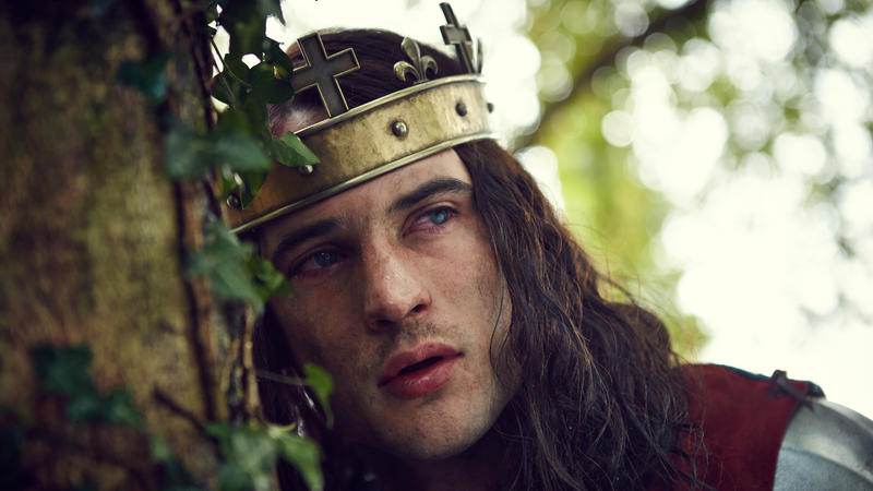 Scene from Ep. 2 Tom Sturridge as Henry VI