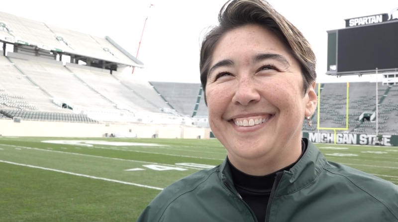Amy Fouty - Michigan State's sports turf manager.