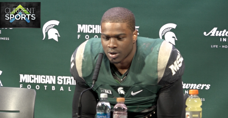 MSU sophomore running back LJ Scott gives thoughts on the 49-0 shutout win over Rutgers on Saturday afternoon.