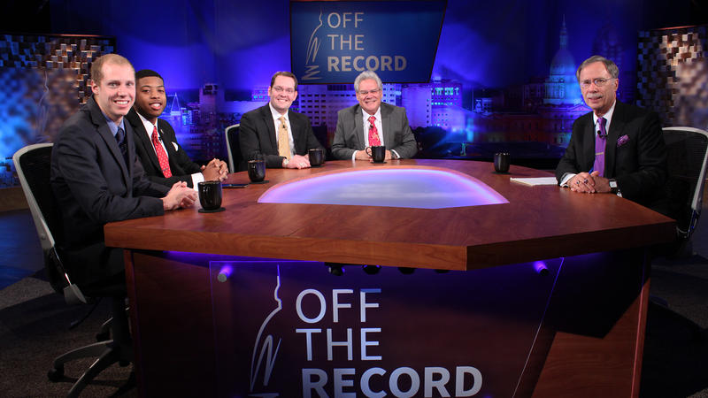 Incoming members of the Michigan House Steve Johnson, Jewell Jones, Ben Frederick and Jim Ellison appearing on Off the Record with Tim Skubick.