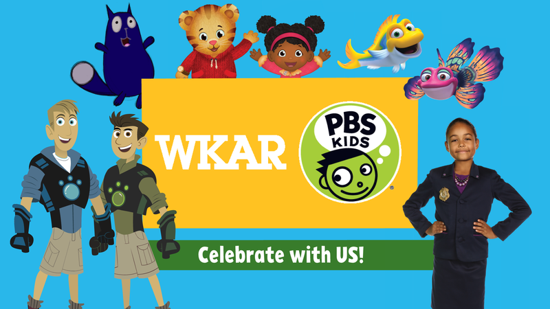 WKAR PBS Kids - Celebrate with Us!