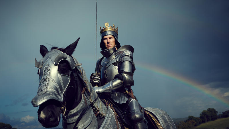 "Benedict Cumberbatch as Richard III in ""The Hollow Crown: The Wars of the Roses Richard III."""