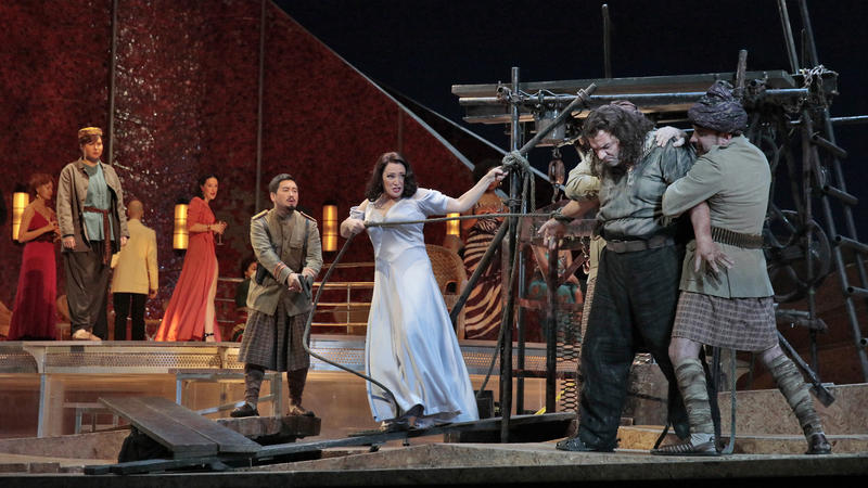 Met Opera's main charcters on stage