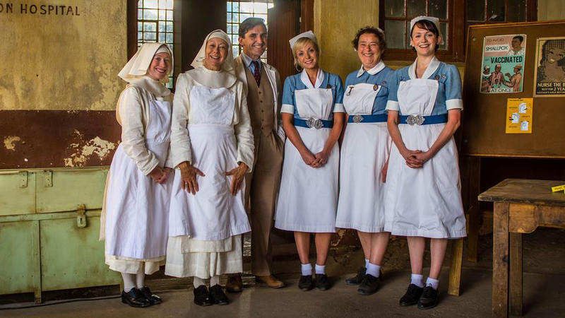 Call the Midwife cast shot