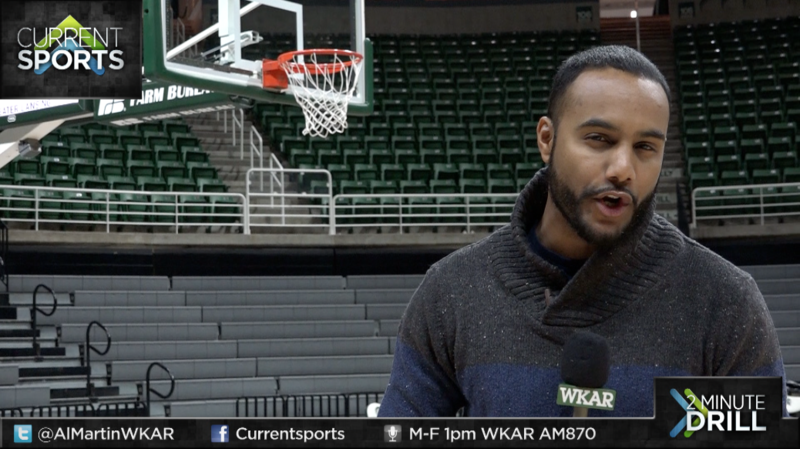 WKAR's Al Martin report from the Breslin Center on the MSU men's basketball win over Tennessee Tech on Saturday afternoon.
