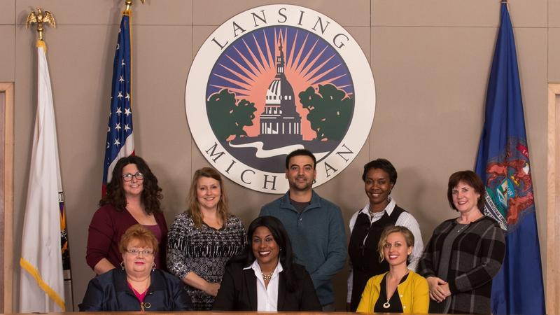 Lansing city council photo