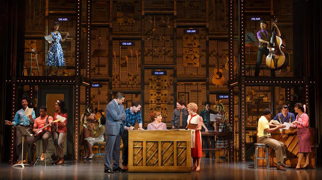 The cast of Beautiful: The Carole King Musical