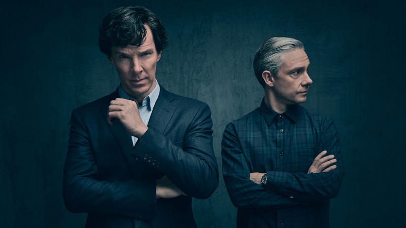 Sherlock Holmes main characters in season 4