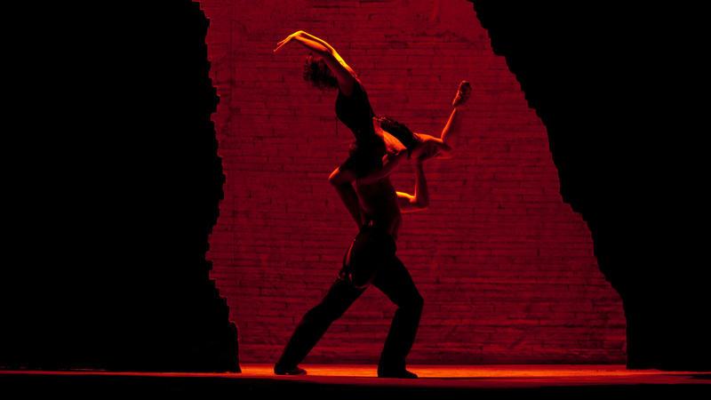 A scene from Bizet's Carmen.