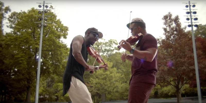 Black Violin, from their music video to 'Stereotypes'