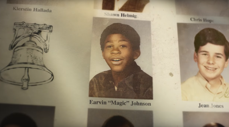 Earvin Johnson Yearbook