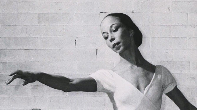 Janet Collins - ballerina