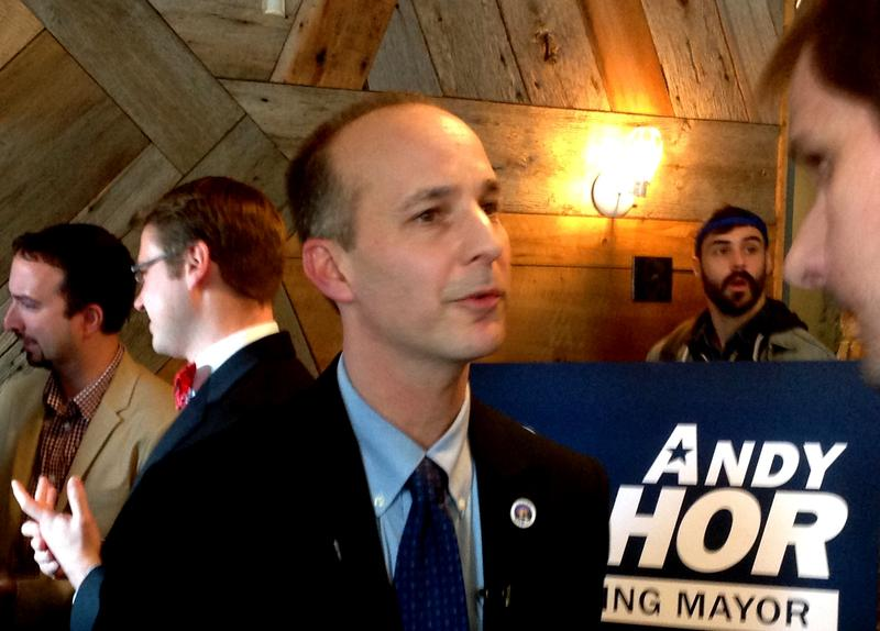 Lansing mayor candidate Andy Schor