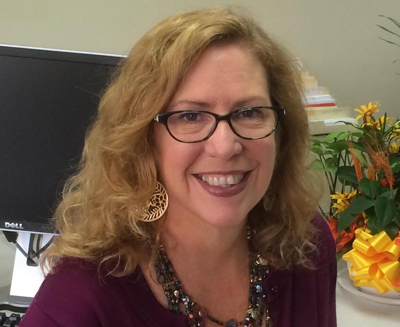 A headshot of Judi Harris