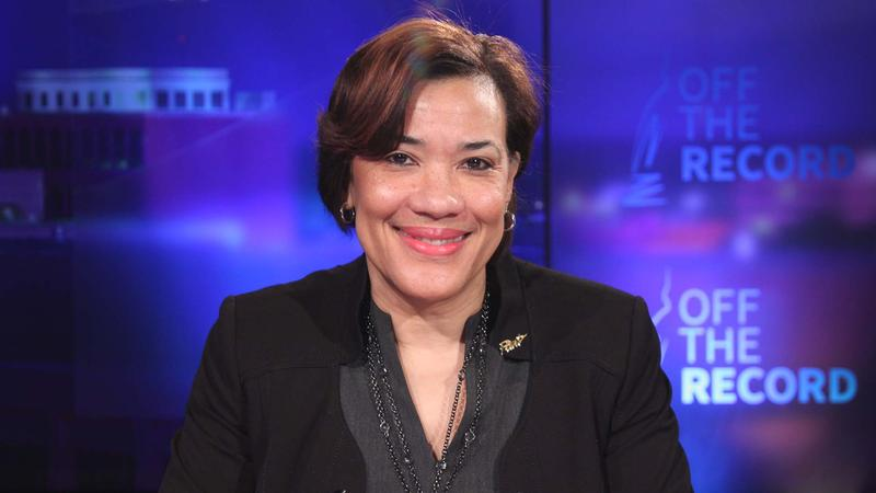 Flint Mayor Dr. Karen Weaver appearing on Off the Record with Tim Skubick.