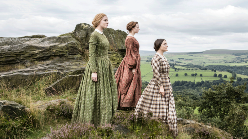 The Bronte Sisters on a hill