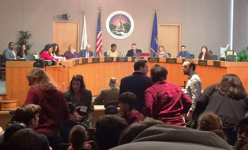 Lansing City Council meets, Wednesday, April 12