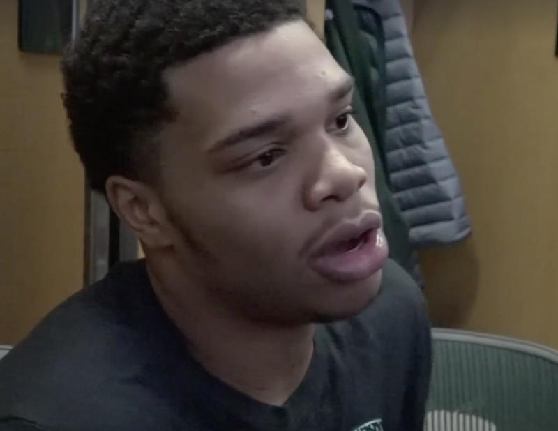 Miles Bridges, MSU basketball player