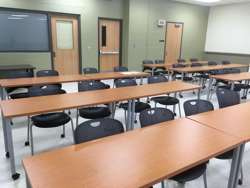 MSU classroom