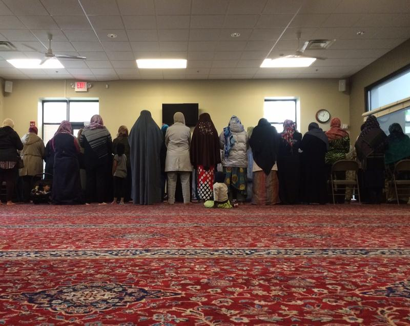 Women praying