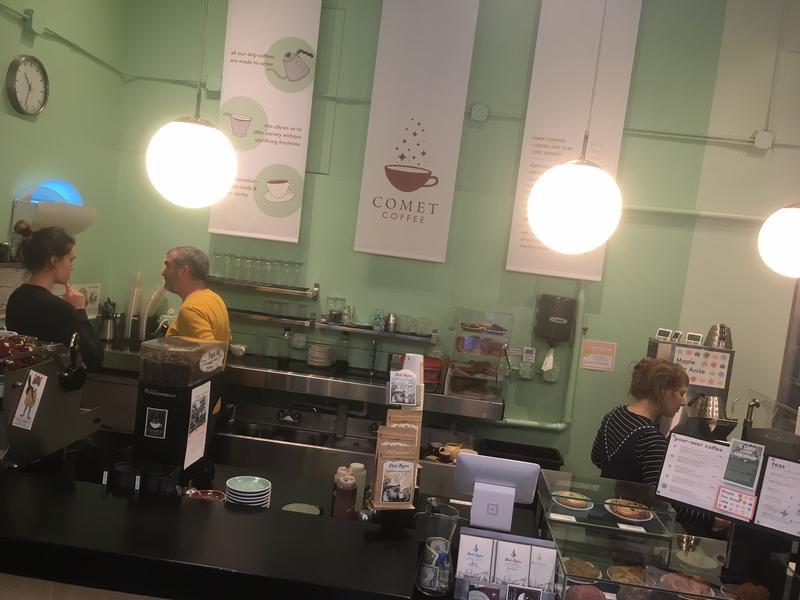 A2's Comet Coffee