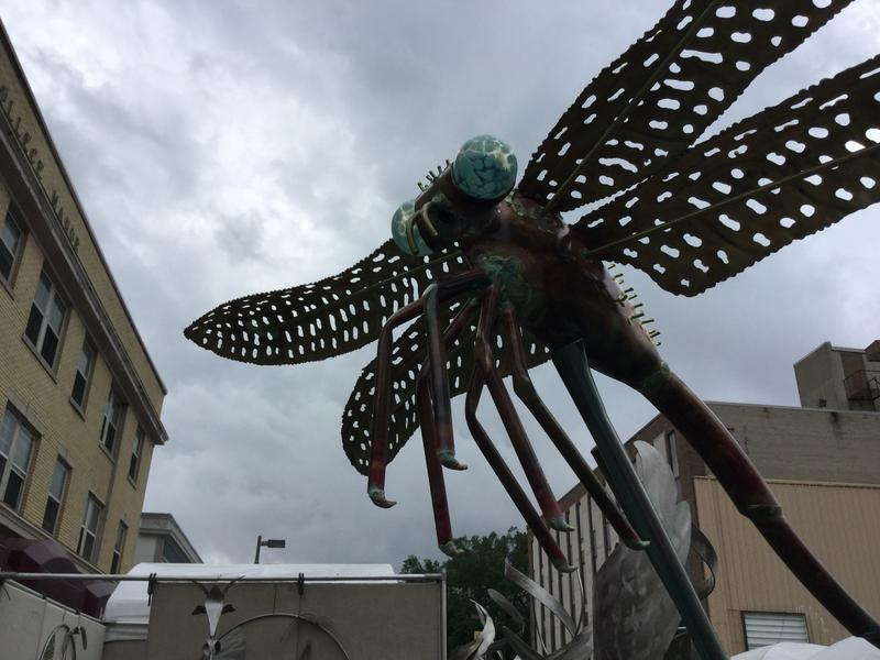 Large dragonfly from Anderson's Metal Sculpture