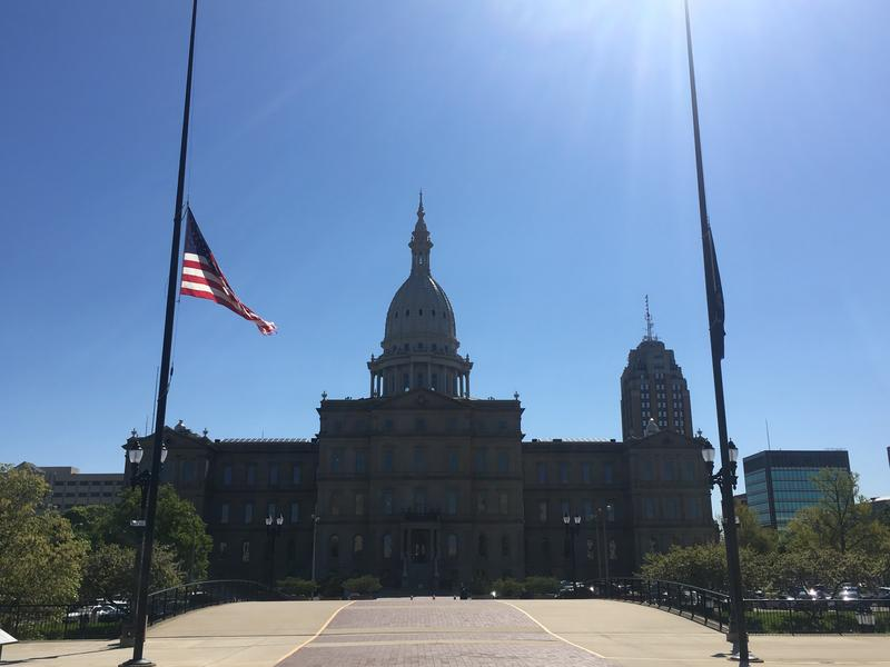 Flags at half-staff